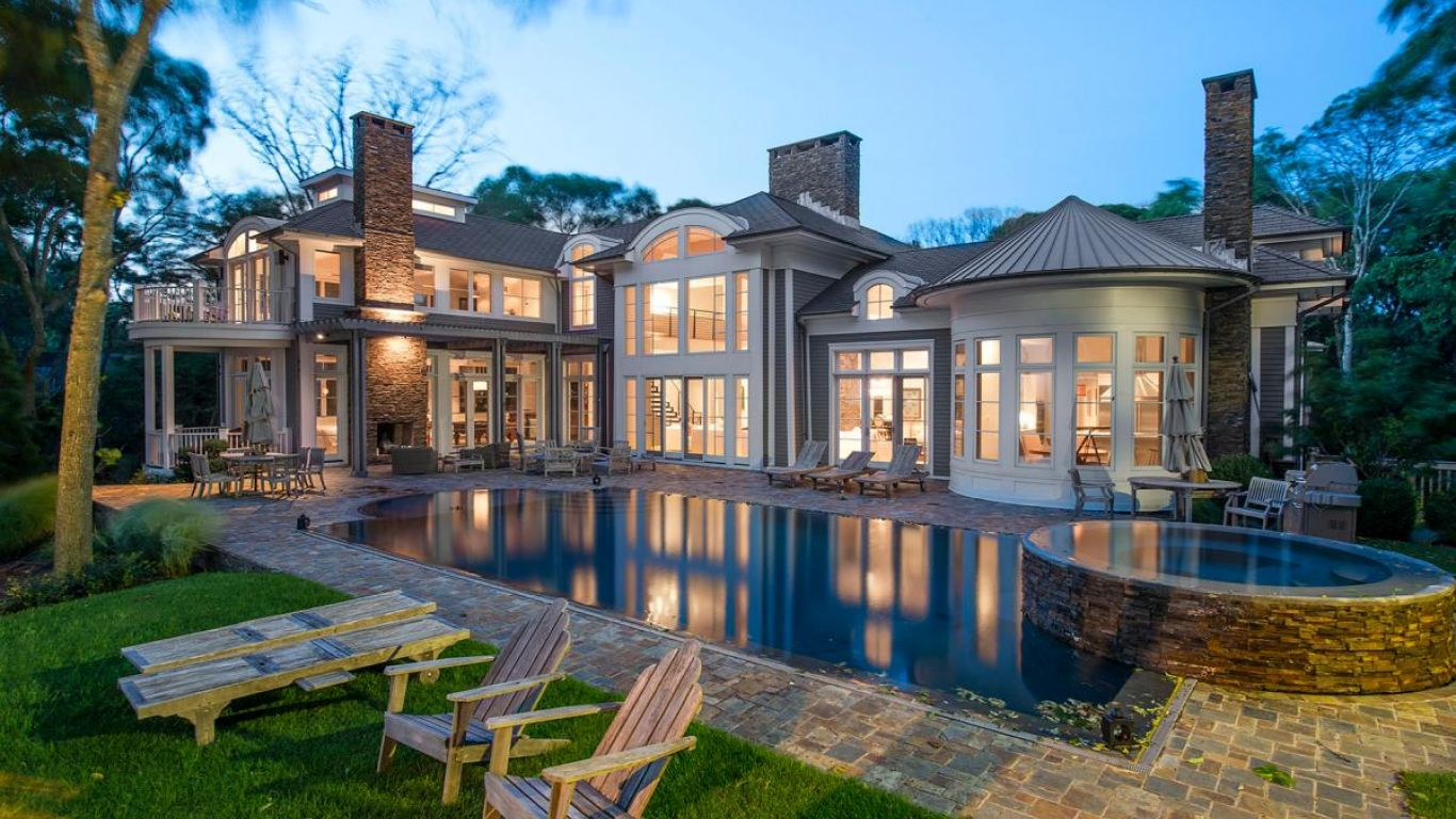 Villa Amelie, North Haven, Hamptons, USA