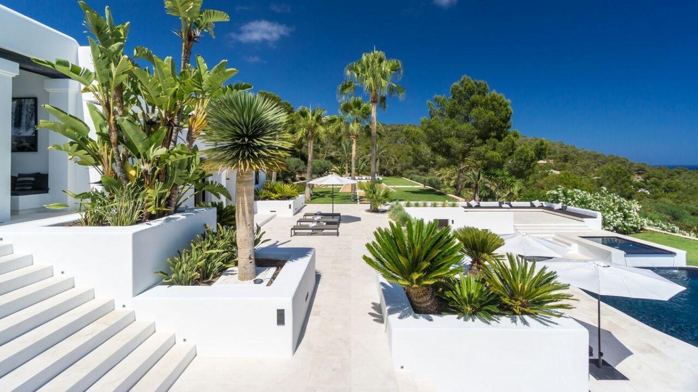 Villa Magenta, Puig Manya, Ibiza, Spain
