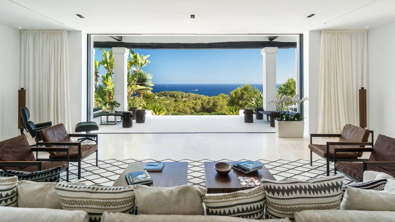 Villa Magenta, Cap Martinet, Ibiza, Spain