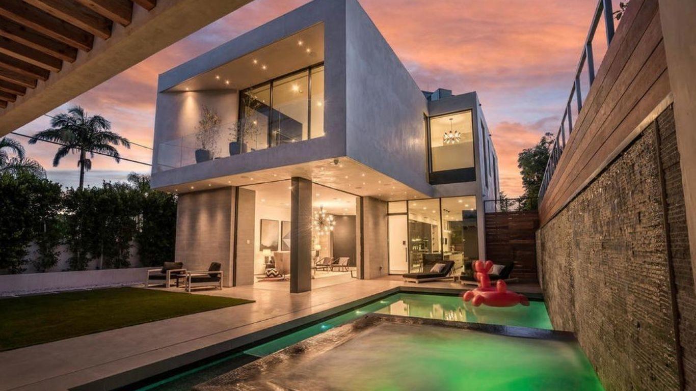 Villa Cheryl, Beverly Grove, Los Angeles, USA