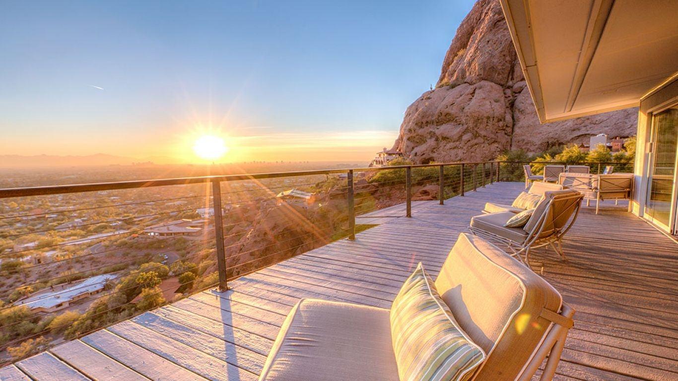 Villa Danae, Scottsdale, Arizona, USA