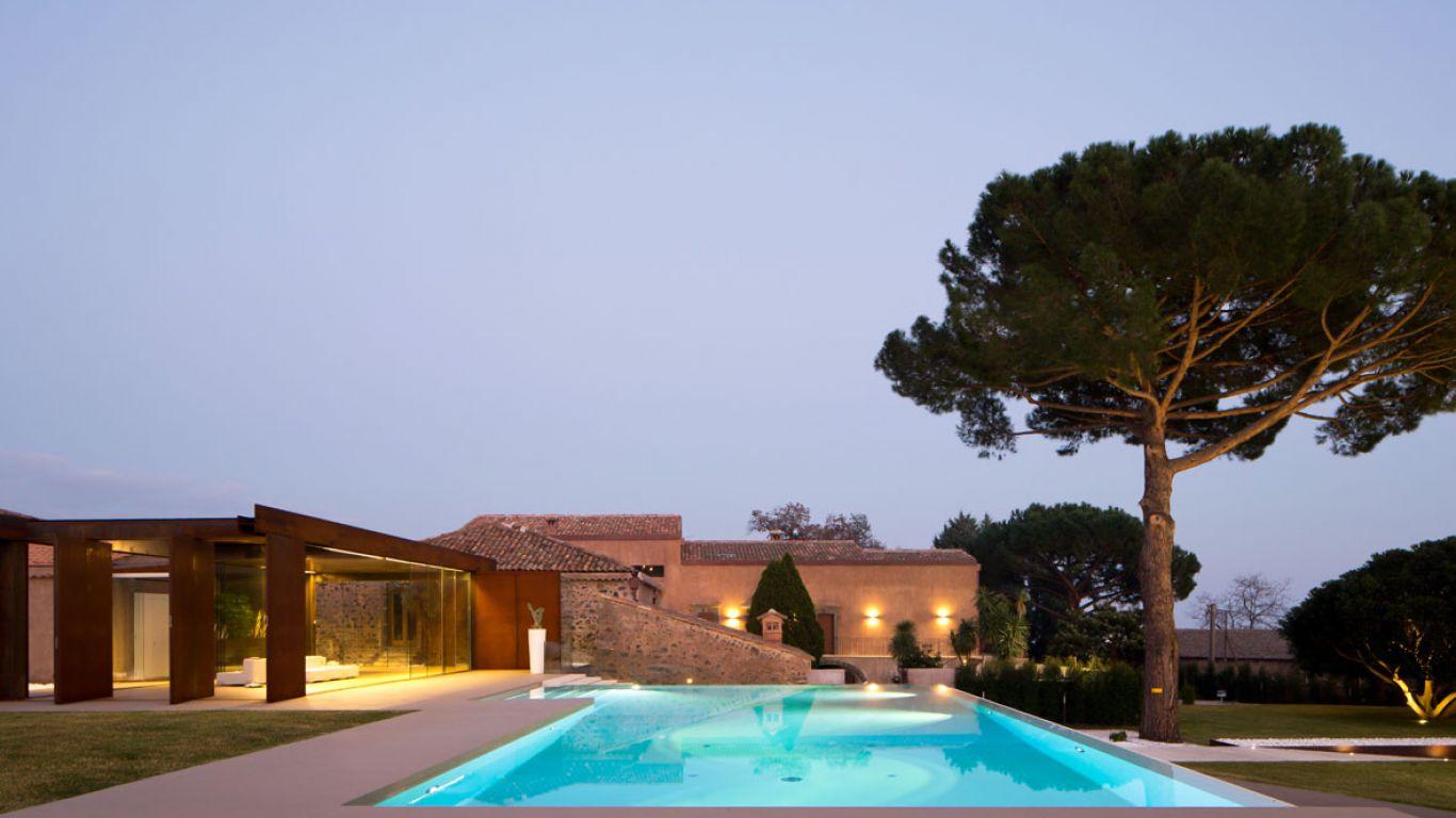 Villa Danae, Viagrande, Sicily, Italy