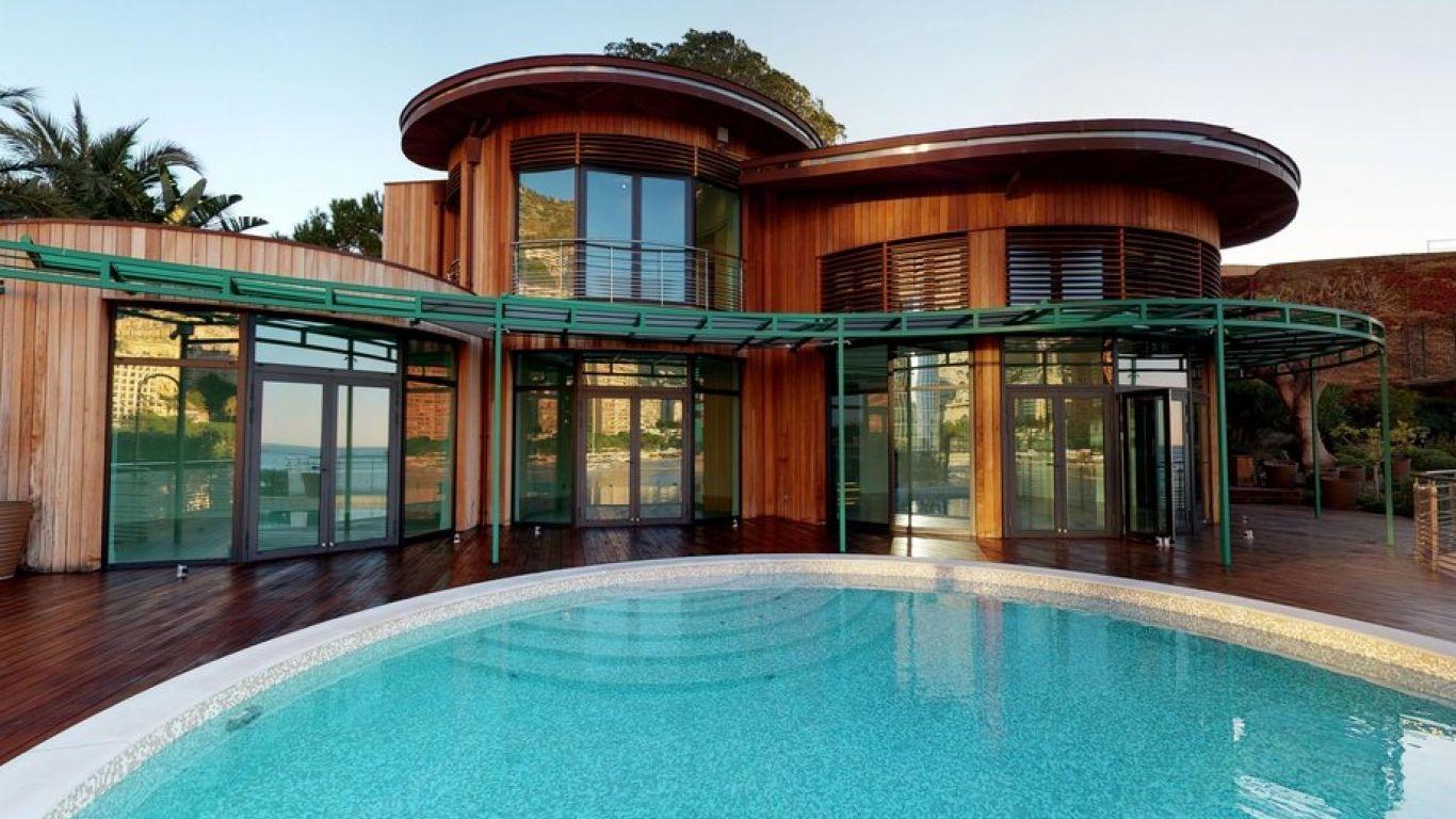 Villa Selena, Larvotto, Monaco, Monaco