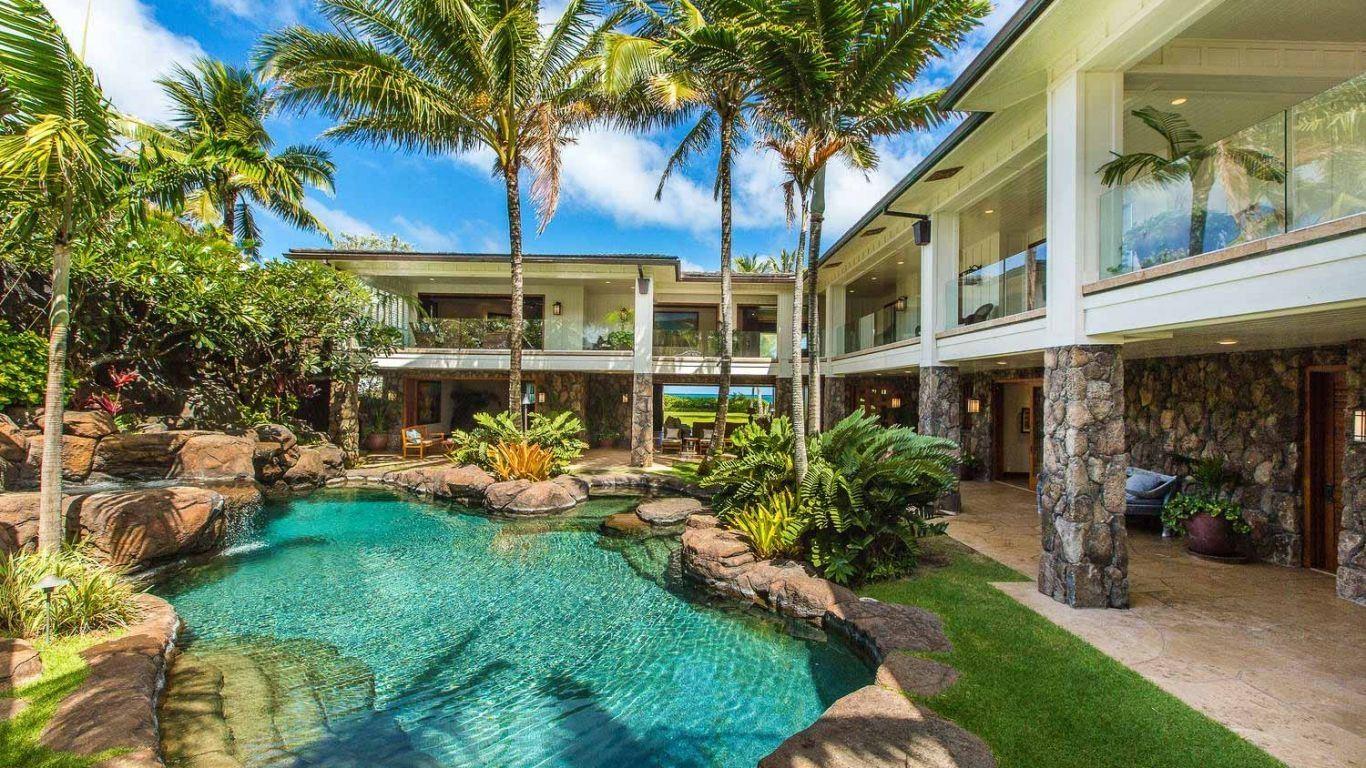 Villa Ariadne, East, Oahu, USA