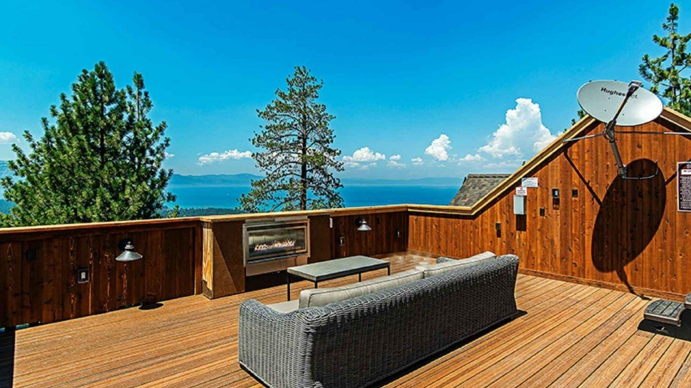 Villa Catalina, South Lake Tahoe, Lake Tahoe, USA