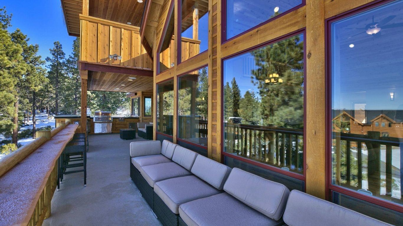 Villa Marina, South Lake Tahoe, Lake Tahoe, USA