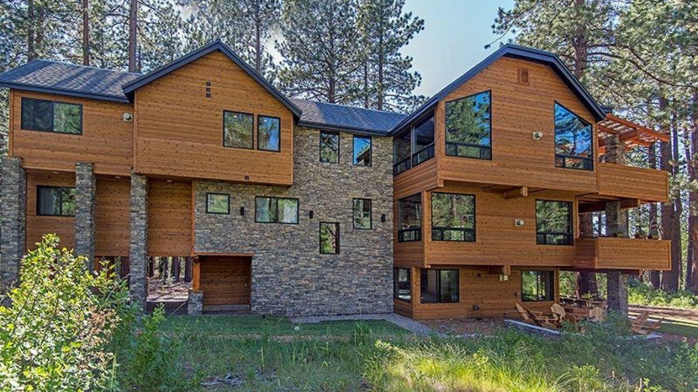 Villa Ariel, South Lake Tahoe, Lake Tahoe, USA