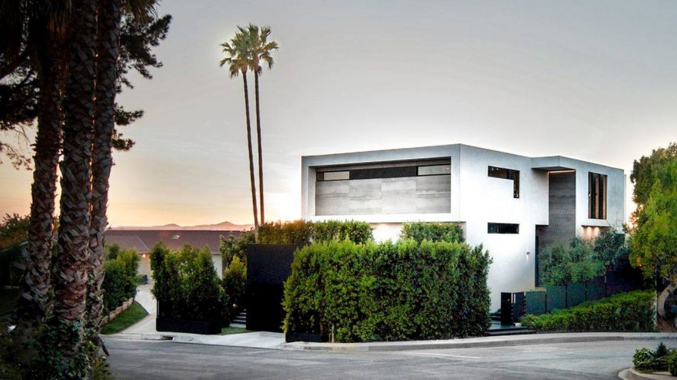Villa April, Beverly Hills, Los Angeles, USA