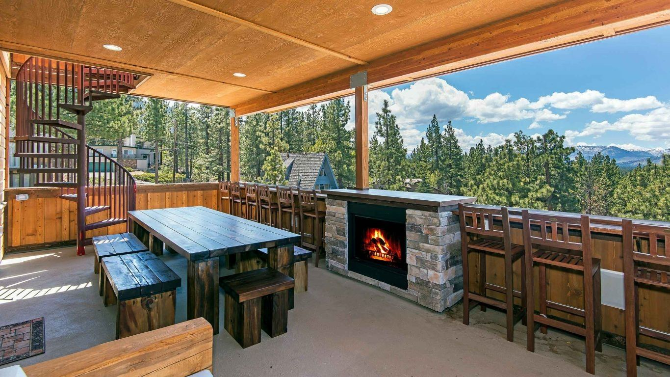Villa Stella, South Lake Tahoe, Lake Tahoe, USA