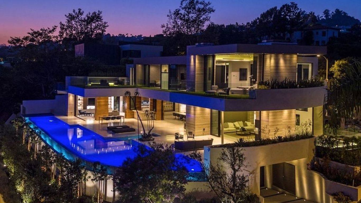 Villa Denise, Beverly Hills, Los Angeles, USA