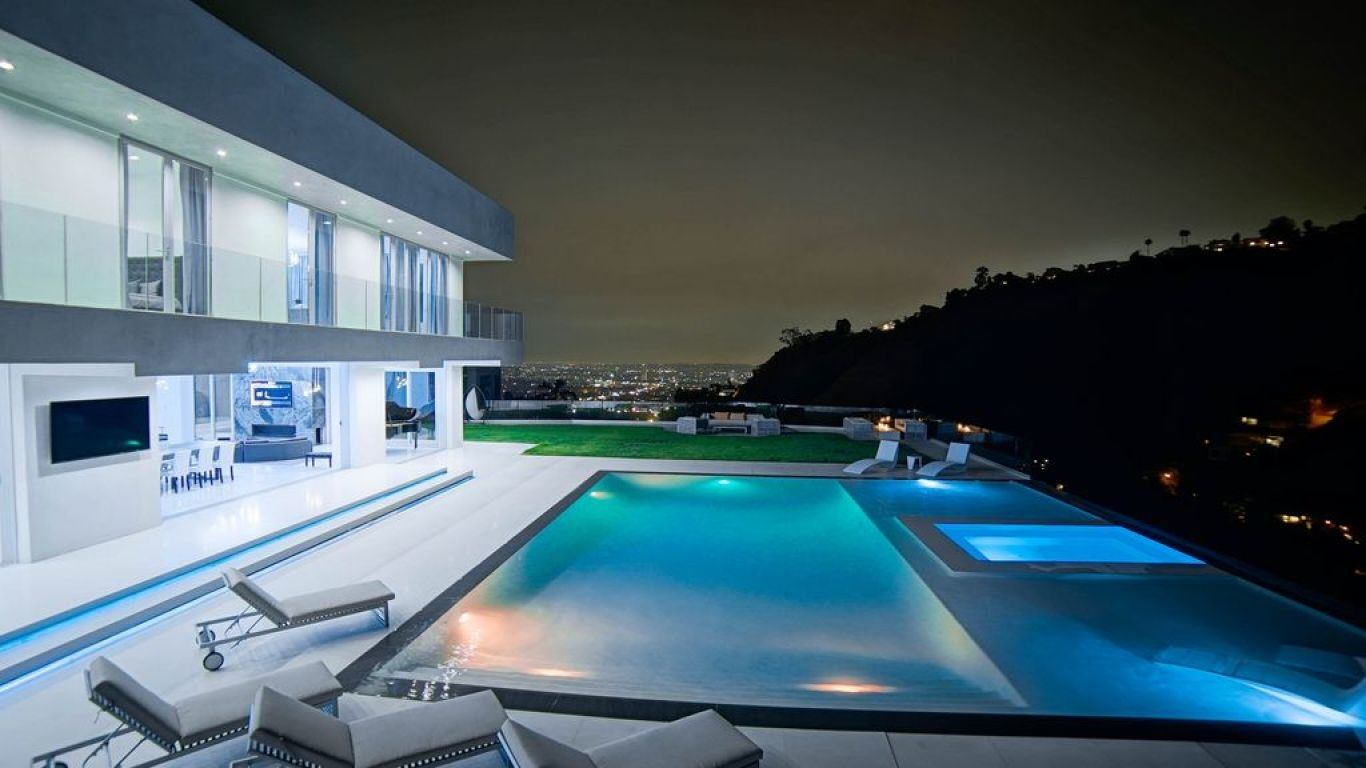 Villa Ola, Hollywood Hills, Los Angeles, USA