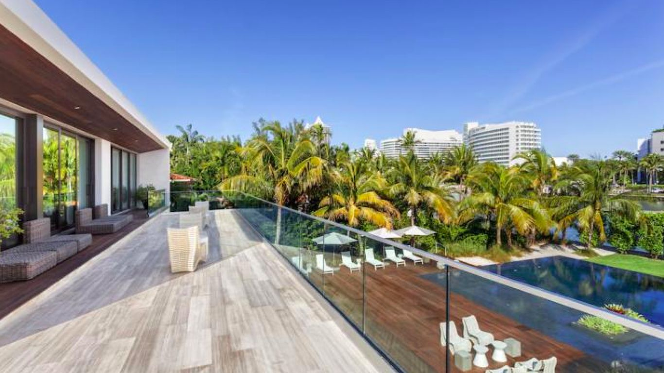Villa Zarina, Nautilus Bay, Miami, USA