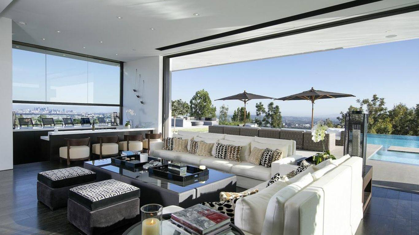 Villa Suri, Beverly Hills, Los Angeles, USA