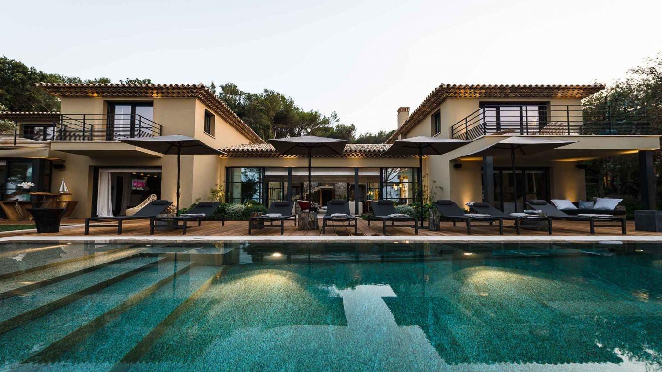Villa Daria, Les Parcs, St. Tropez, France