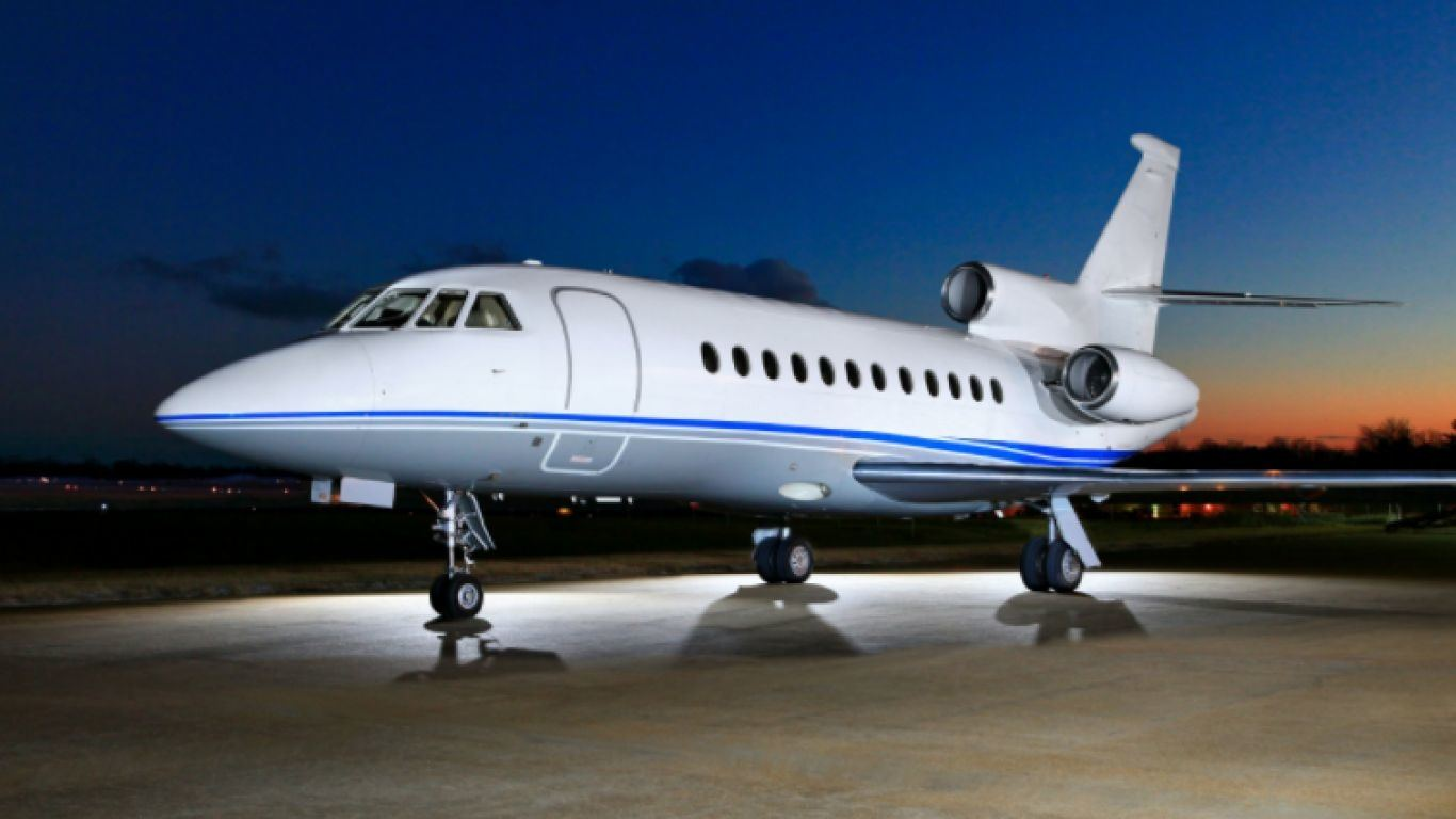 Falcon 900B, Heavy, Jets, USA