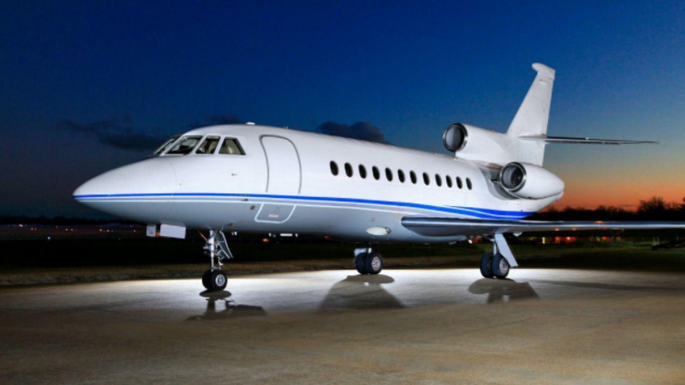 Falcon 900B, Heavy, Jets, USA