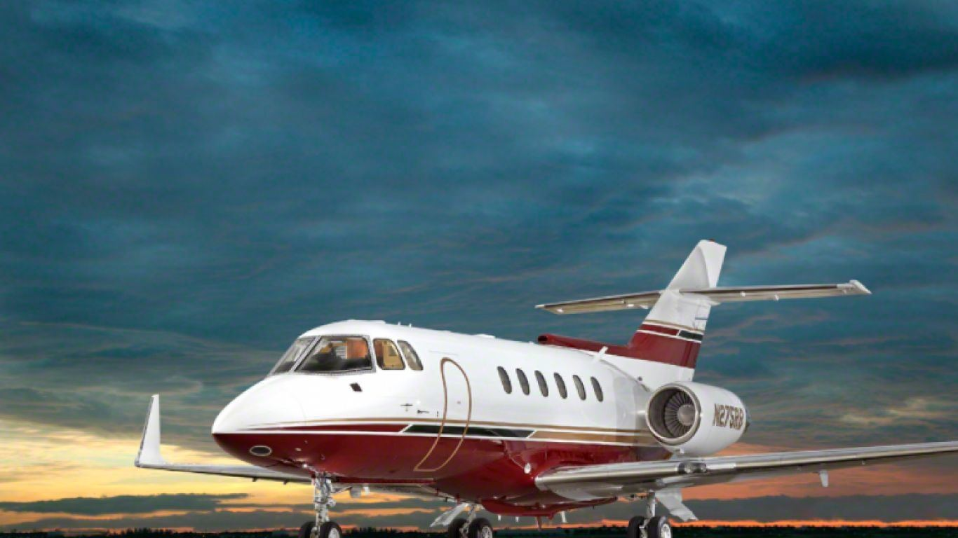 Hawker 800A 1, Midsize, Jets, USA