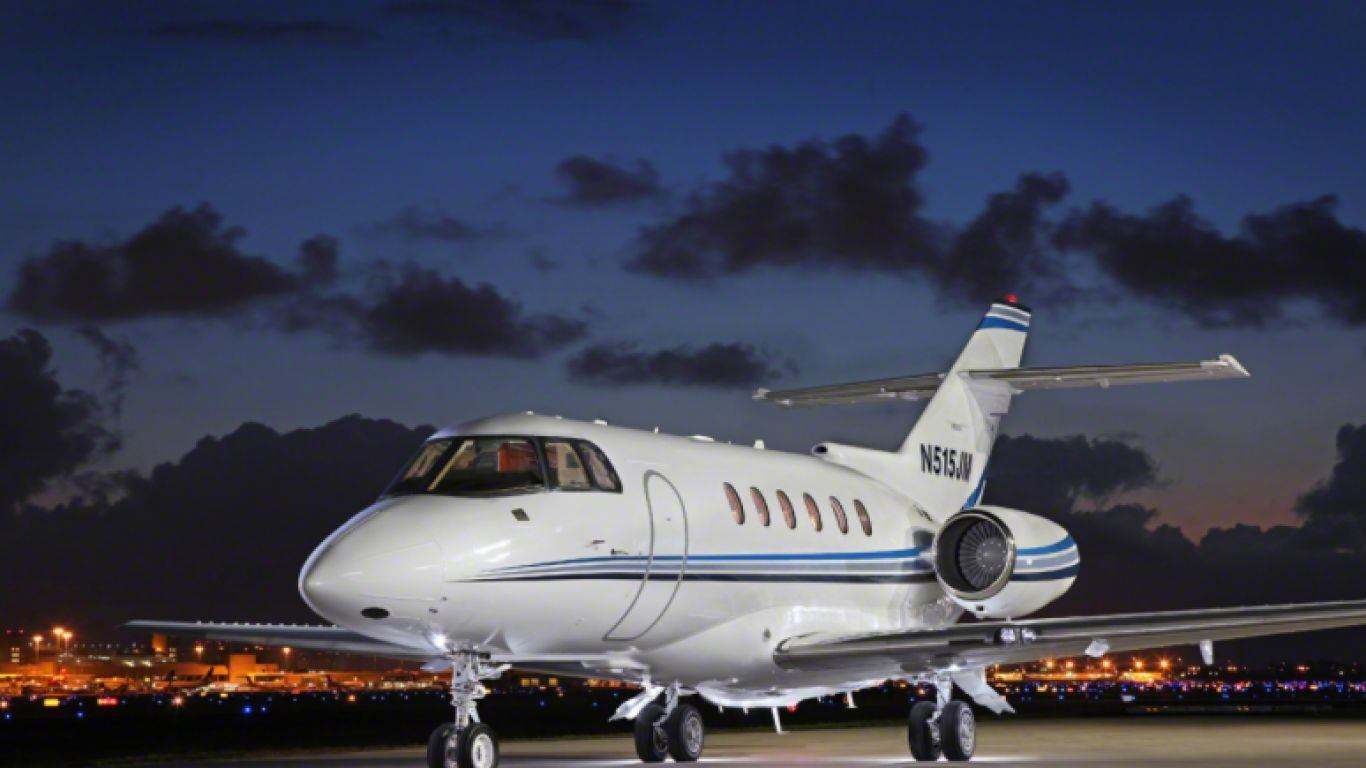 Hawker 800XP 2, Midsize, Jets, USA