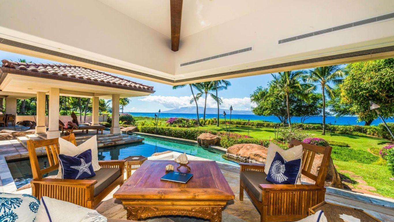 Villa Glaselle, Kaanapali, Maui, USA
