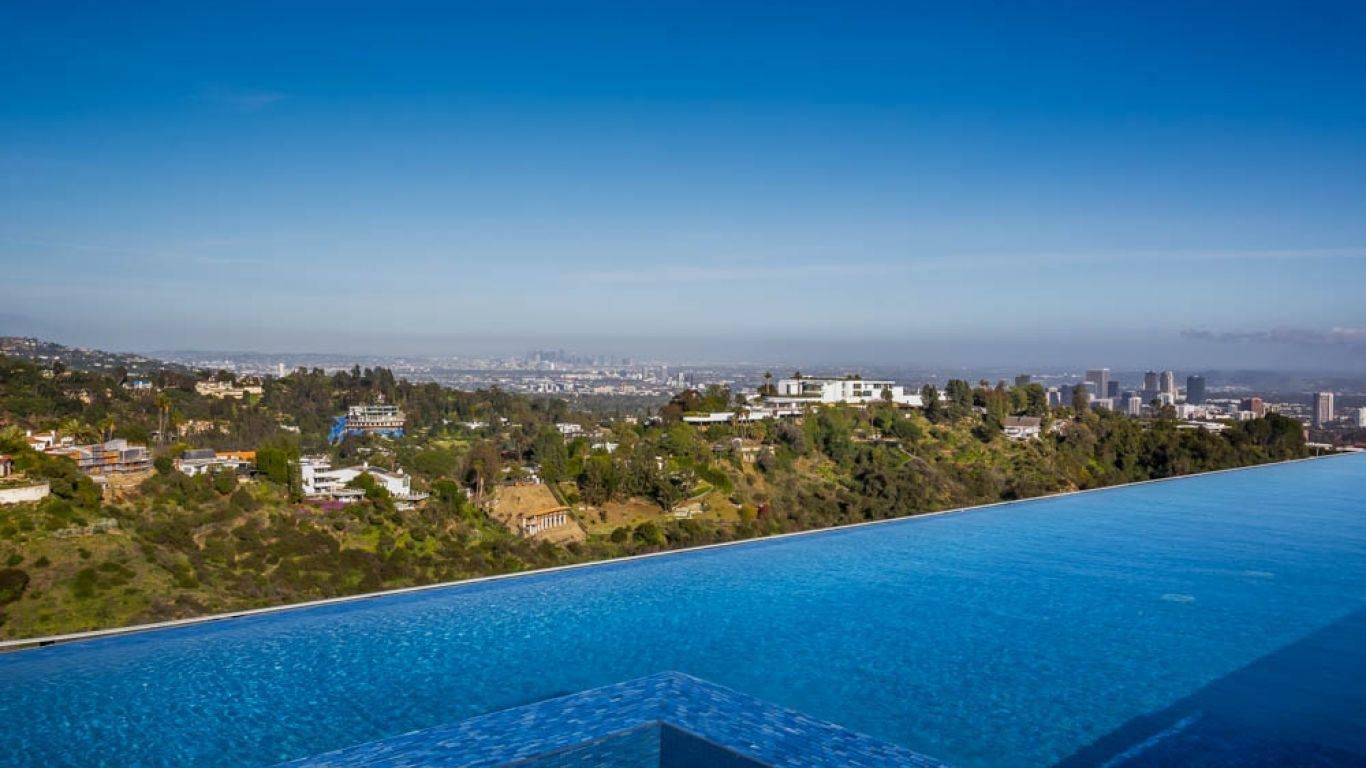 Villa Prima, Bel Air, Los Angeles, USA