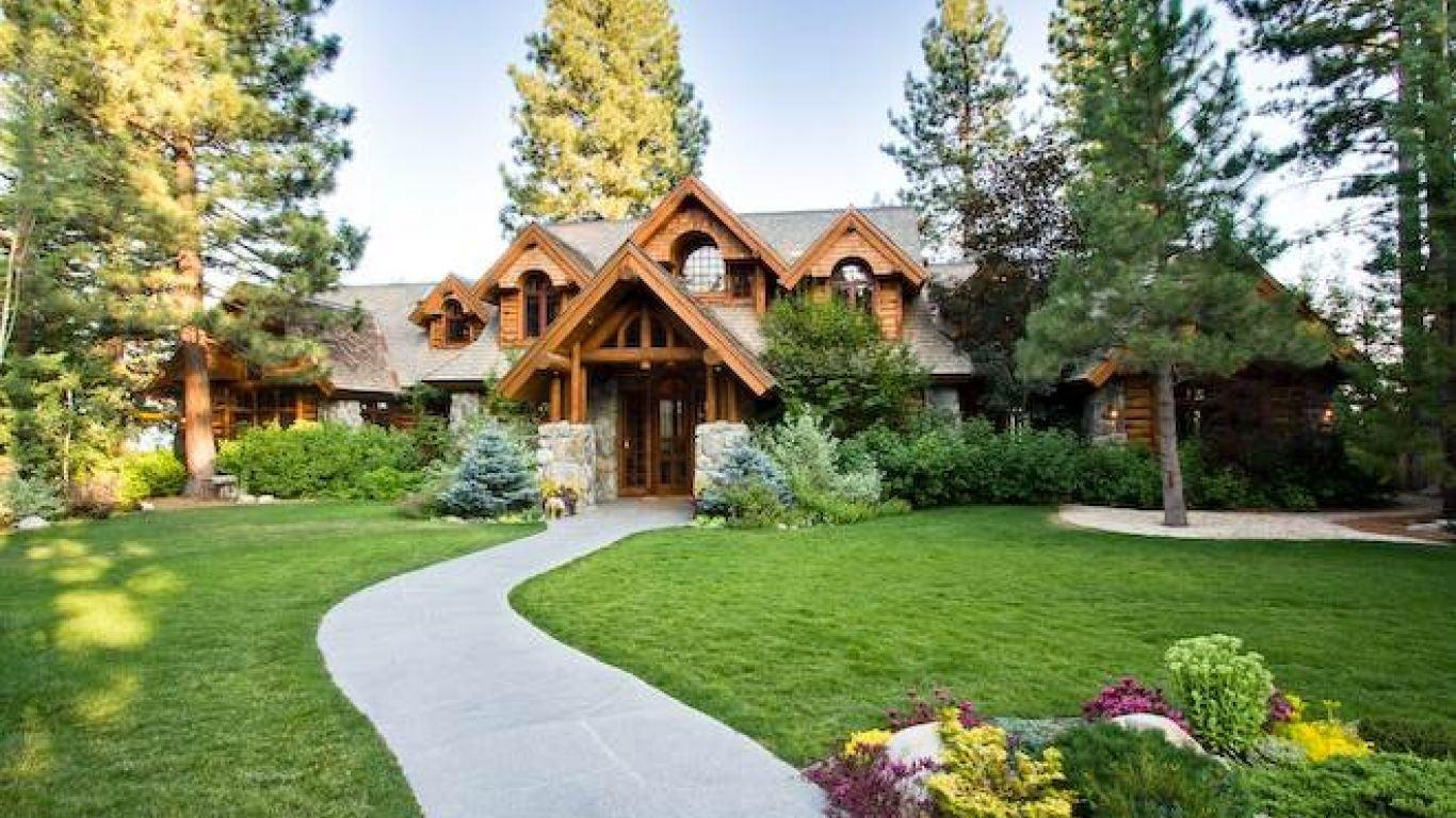 Villa Mona, Carnelian Bay, Lake Tahoe, USA