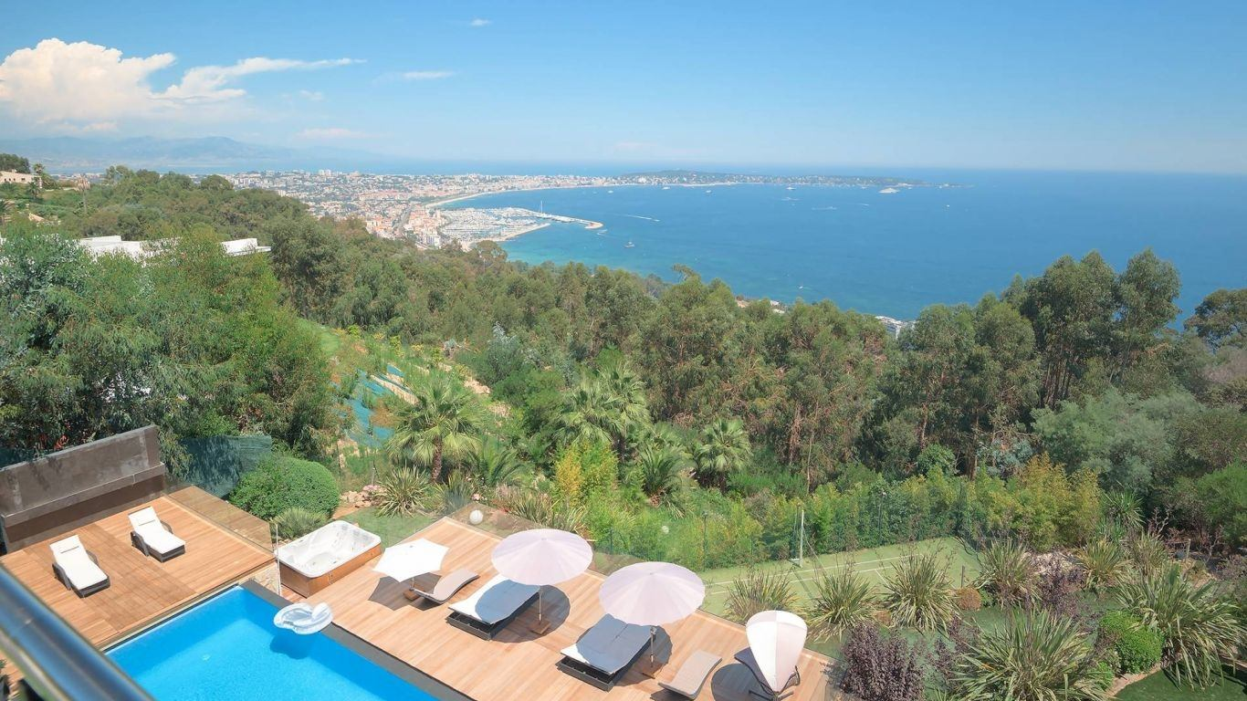 Villa Cheska, Vallauris, Cannes, France