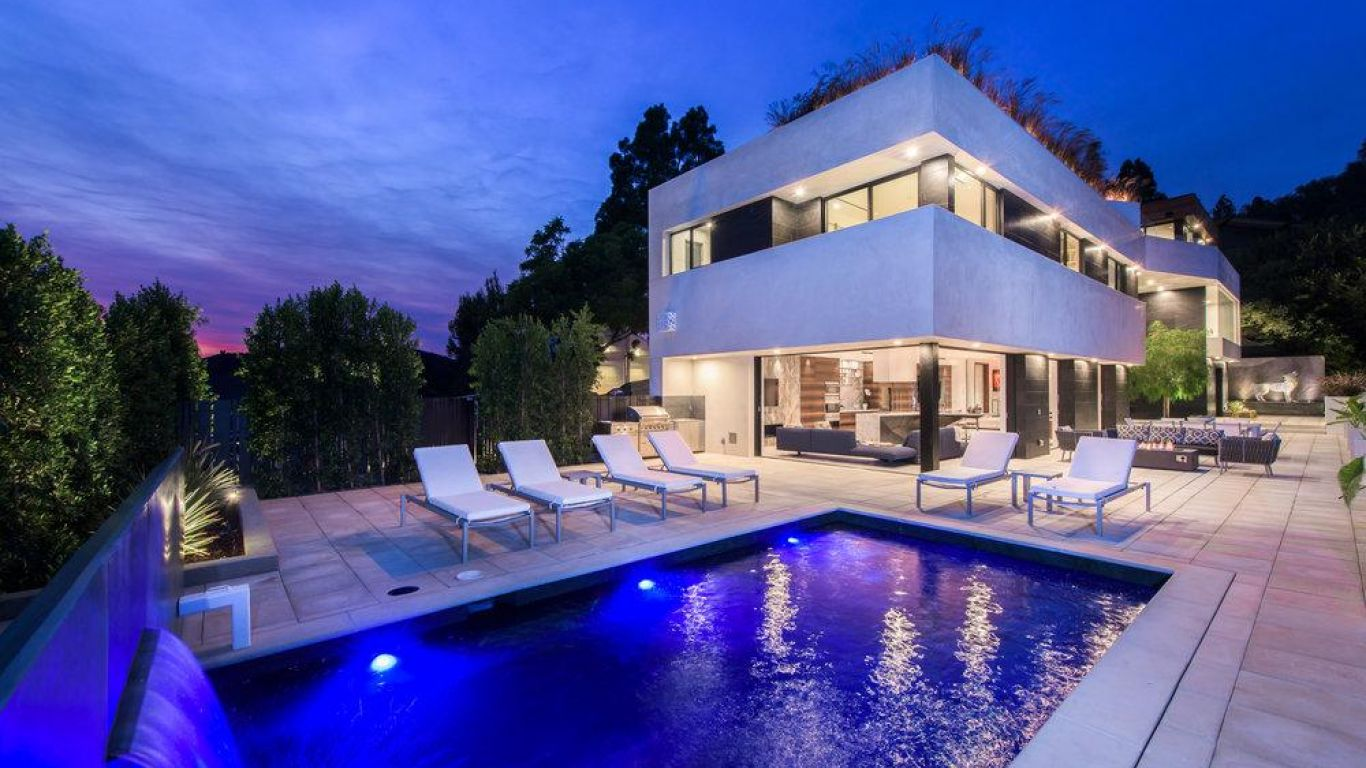 Villa Kayla, Bel Air, Los Angeles, USA