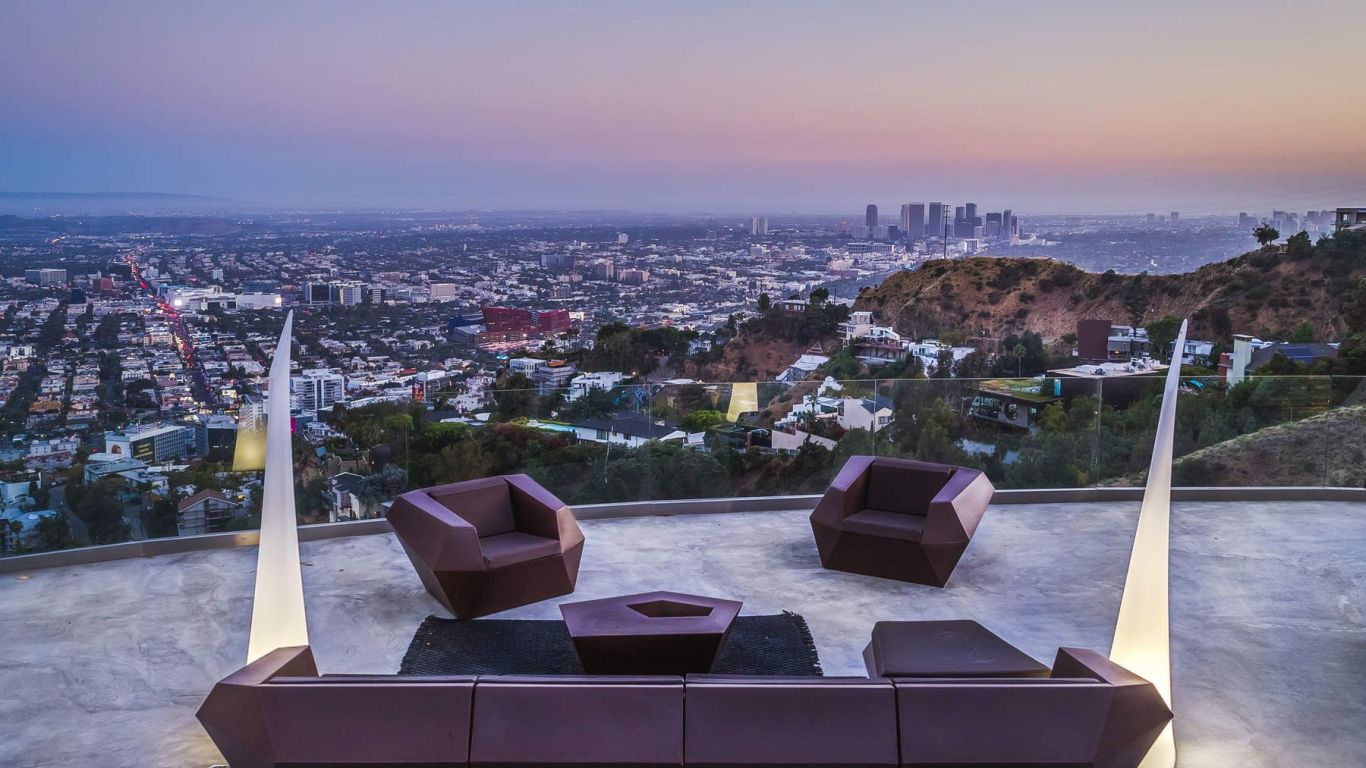 Villa Gem, Hollywood Hills, Los Angeles, USA