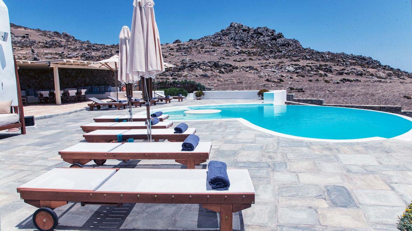 Villa Vada, Fanari, Mykonos, Greece