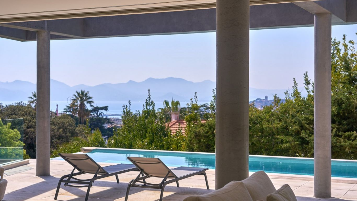 Villa Nadine, Californie, Cannes, France